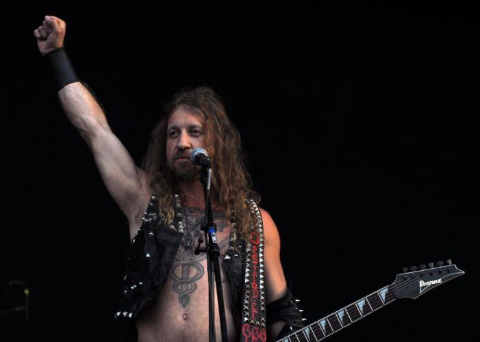Destroyer 666 black metal heavy concert guitar r g wallpaper