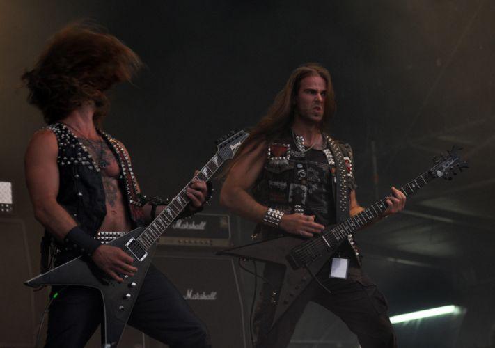 Destroyer 666 black metal heavy concert guitar f wallpaper