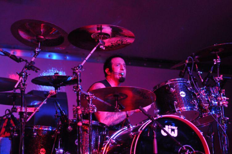 Drowning Pool nu-metal heavy metal concert drums fg wallpaper