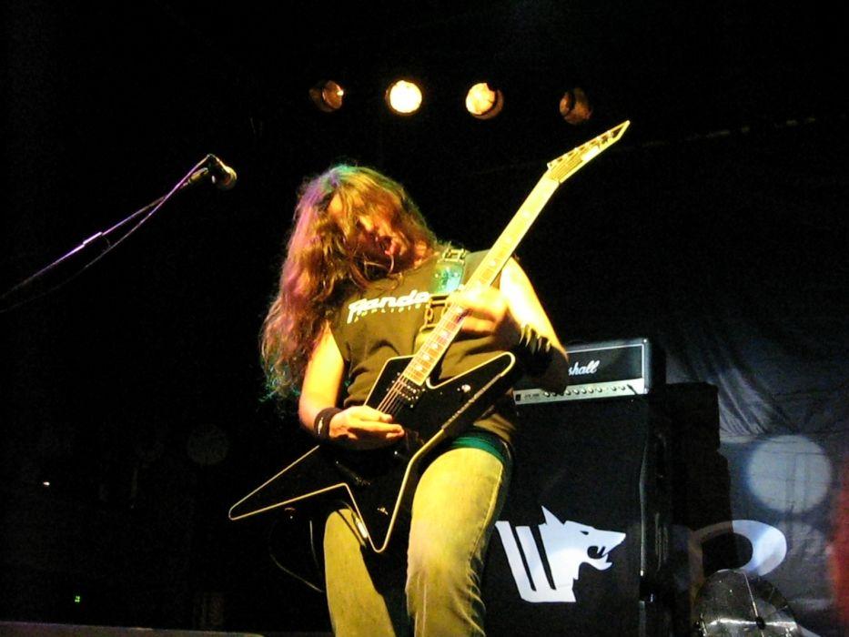 Firewind heavy metal concert guitar     o wallpaper