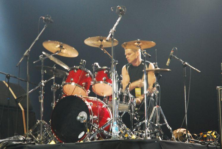 Flotsam & Jetsam heavy metal concert drums f wallpaper