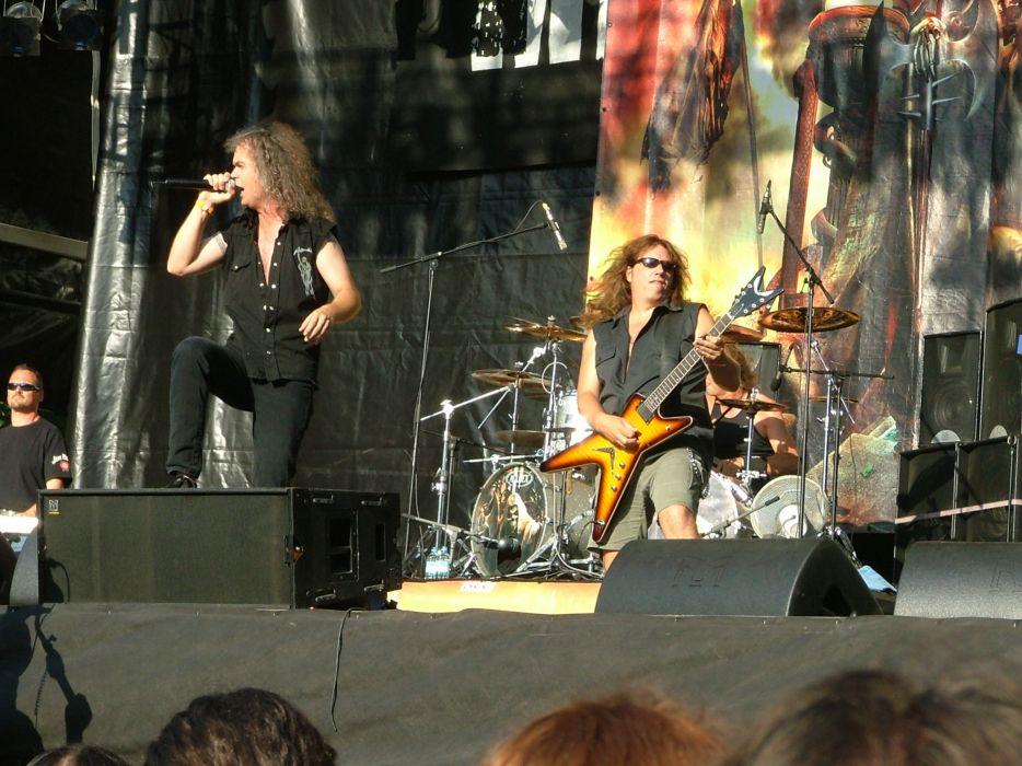 GRAVE DIGGER heavy metal concert guitar        s wallpaper