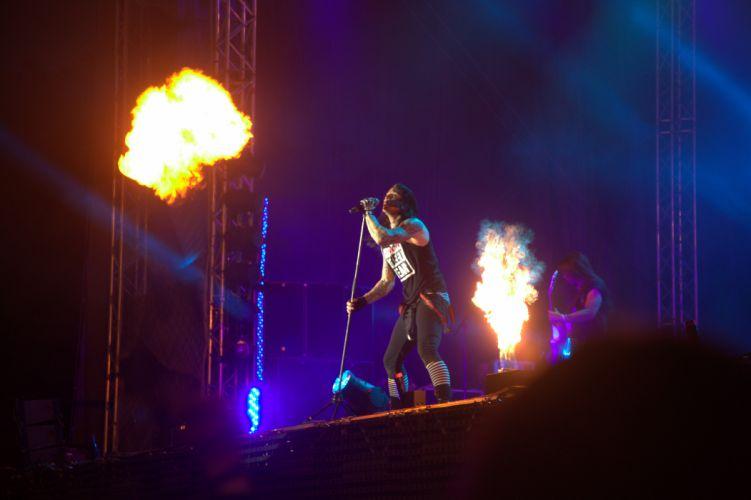 Hardcore Superstar nu-metal rap heavy metal concert d wallpaper