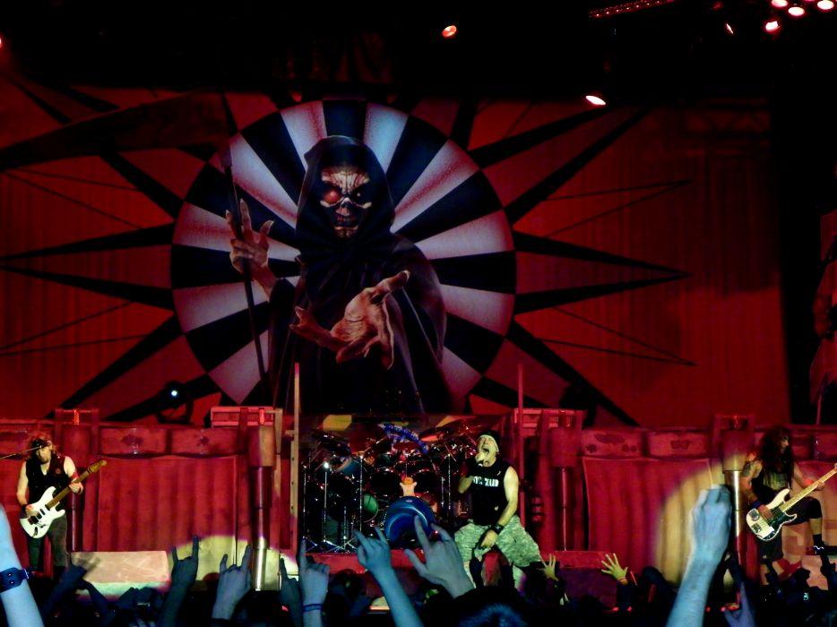 IRON MAIDEN heavy metal concert    e wallpaper