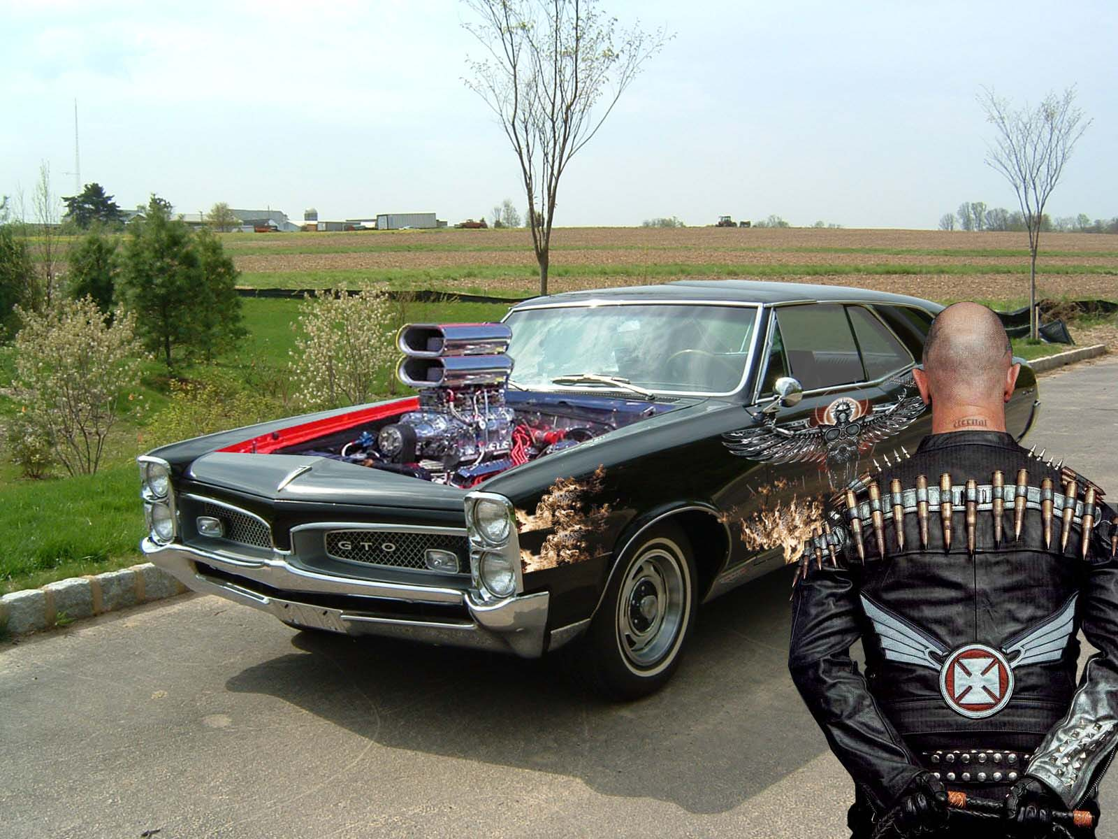 JUDAS PRIEST Heavy Metal Hot Rod Rods Muscle Pontiac Gto