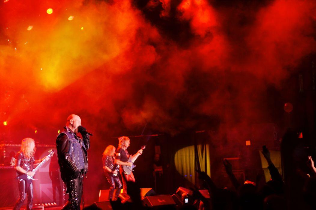 Judas Priest Heavy Metal Concert Wallpaper 3468x2308