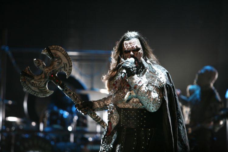 LORDI heavy metal concert dd wallpaper