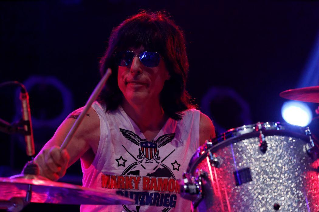 Marky Ramones Blitzkrieg heavy metal concert drums wallpaper