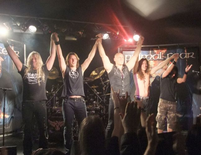 PRIMAL FEAR heavy metal concert wallpaper