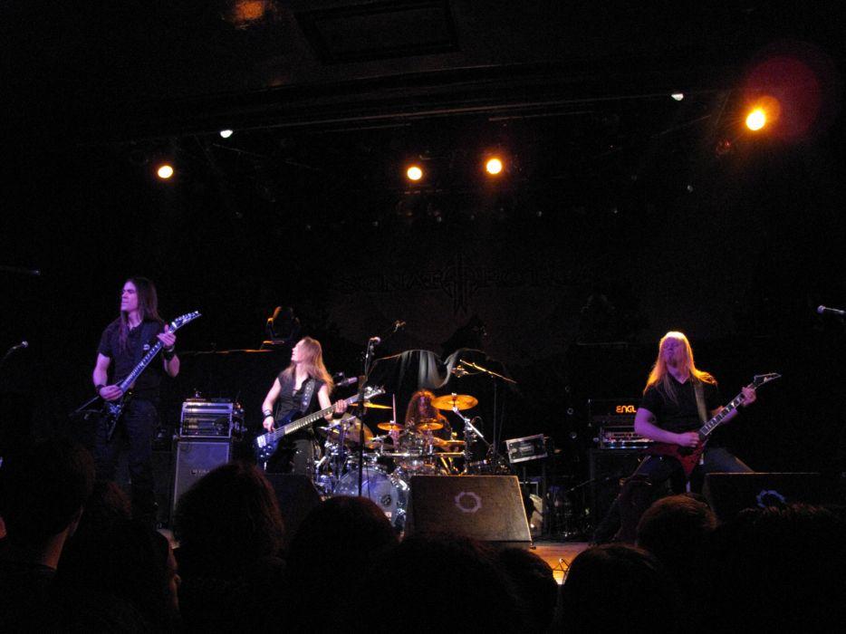Triosphere heavy metal concert    w wallpaper