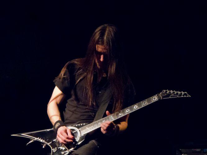 Triosphere heavy metal concert guitar f wallpaper