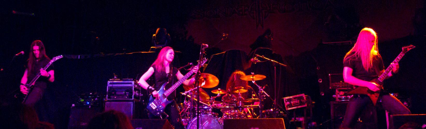 Triosphere heavy metal concert guitar drums fw wallpaper