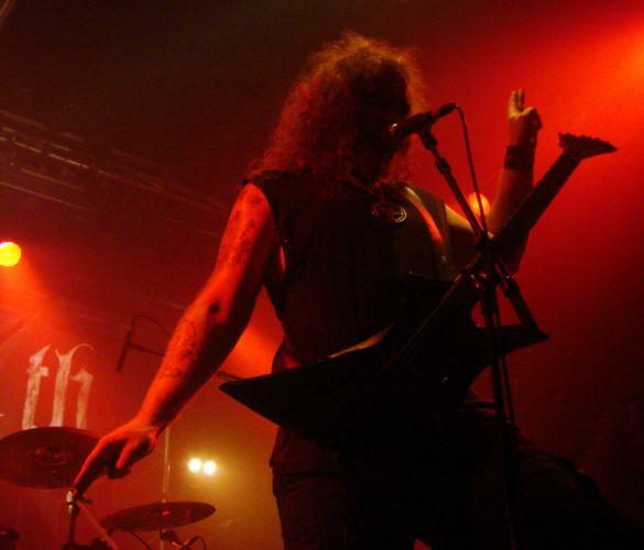 Enthroned black metal heavy concert wallpaper