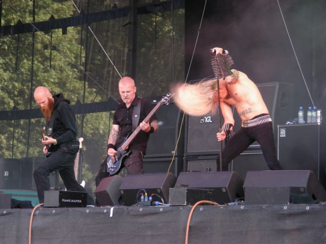 Kampfar black metal heavy concert guitar g wallpaper