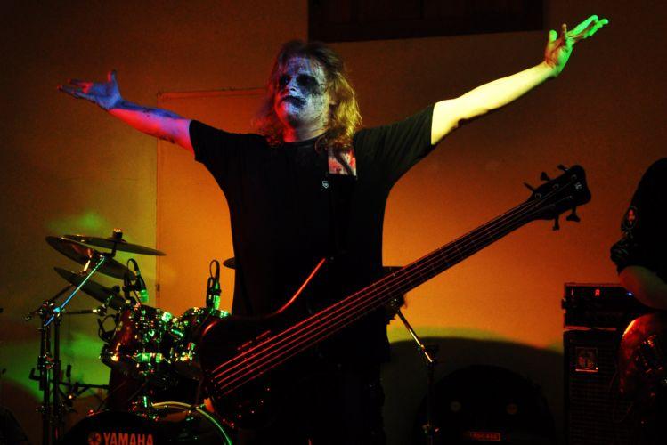 Malevolentia black metal heavy concert guitar g wallpaper