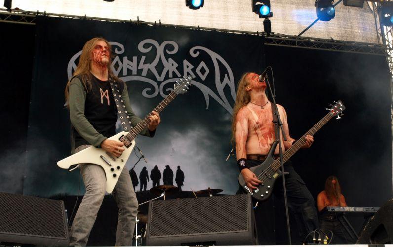 Moonsorrow black metal heavy concert guitar g wallpaper