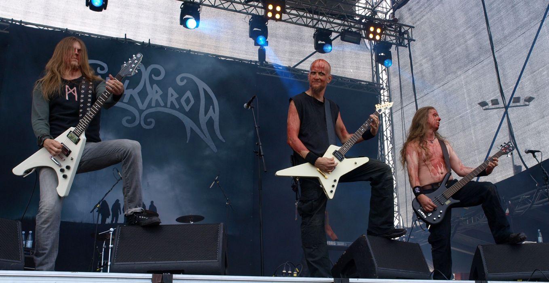 Moonsorrow black metal heavy concert guitar   b wallpaper