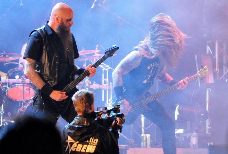 Naglfar black metal heavy concert guitar f_JPG wallpaper