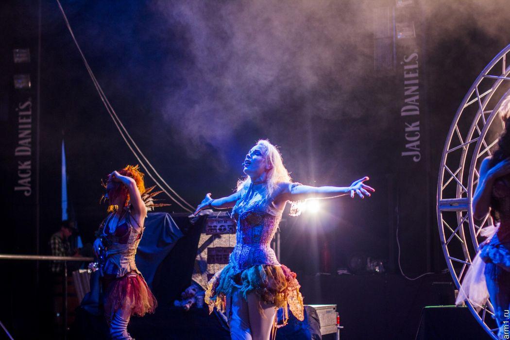 Emilie Autumn Liddell music singer songwriter poet violinist industrial rock redhead glam violin   q5 wallpaper