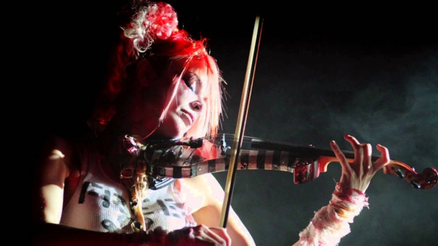 Emilie Autumn Liddell music singer songwriter poet violinist industrial rock redhead glam violin r wallpaper