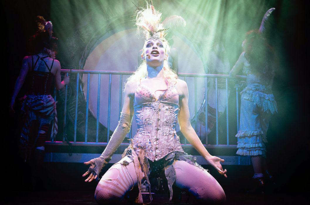 Emilie Autumn Liddell music singer songwriter poet violinist industrial rock redhead glam violin    e wallpaper