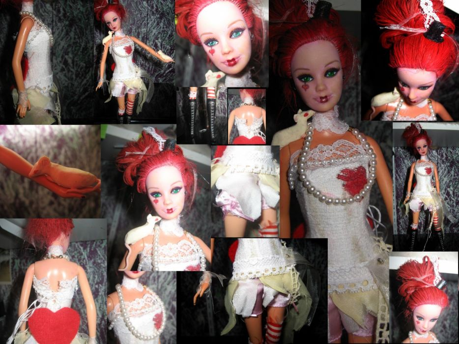 Emilie Autumn Liddell music singer songwriter poet violinist industrial rock redhead glam      f wallpaper