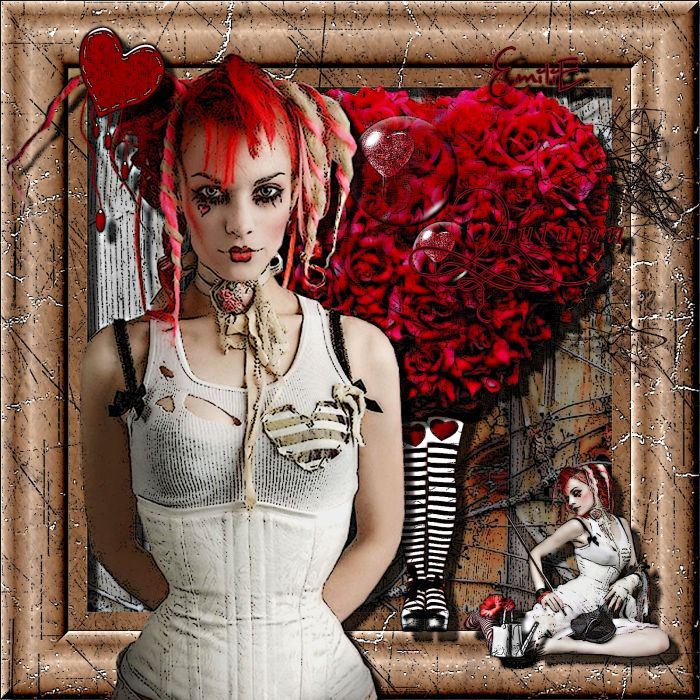 Emilie Autumn Liddell music singer songwriter poet violinist industrial rock redhead glam  f wallpaper
