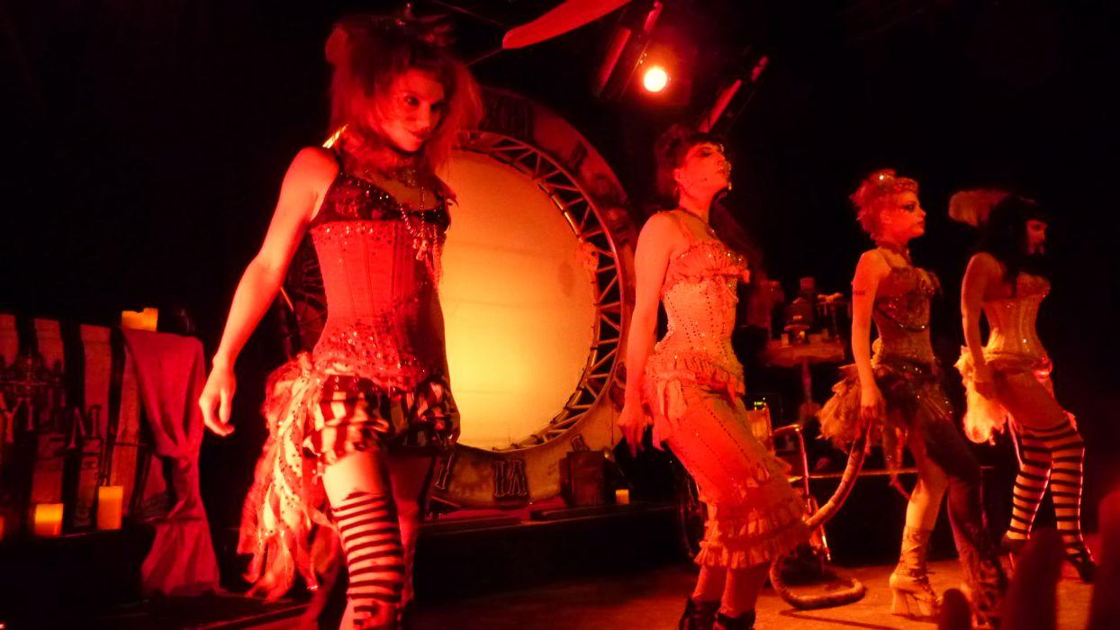 Emilie Autumn Liddell music singer songwriter poet violinist industrial rock redhead glam violin    d wallpaper