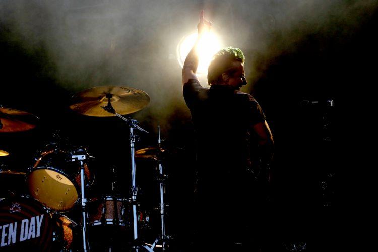 Green Day punk rock pop concert drums g_JPG wallpaper
