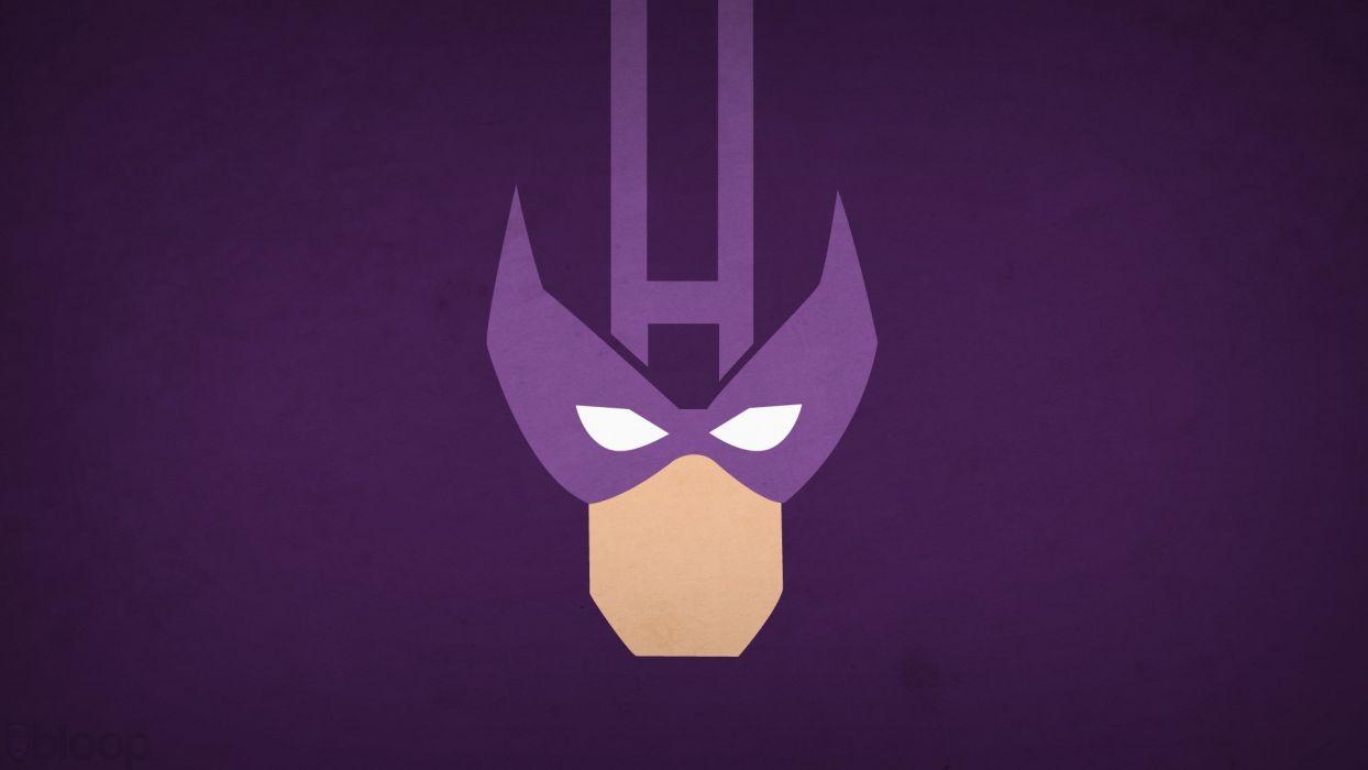 minimalistic superhero wallpaper