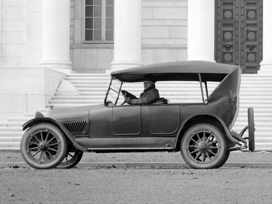 1917 Oldsmobile Model-45 Touring retro convertible   h wallpaper