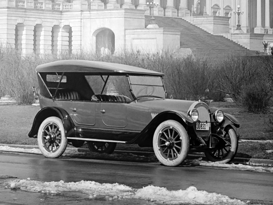 1917 Oldsmobile Model-45 Touring retro convertible   fd wallpaper