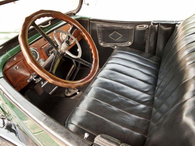 1917 Oldsmobile Model-45 Touring retro convertible interior h wallpaper