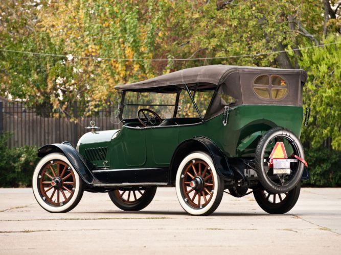 1917 Oldsmobile Model-45 Touring retro convertible wallpaper