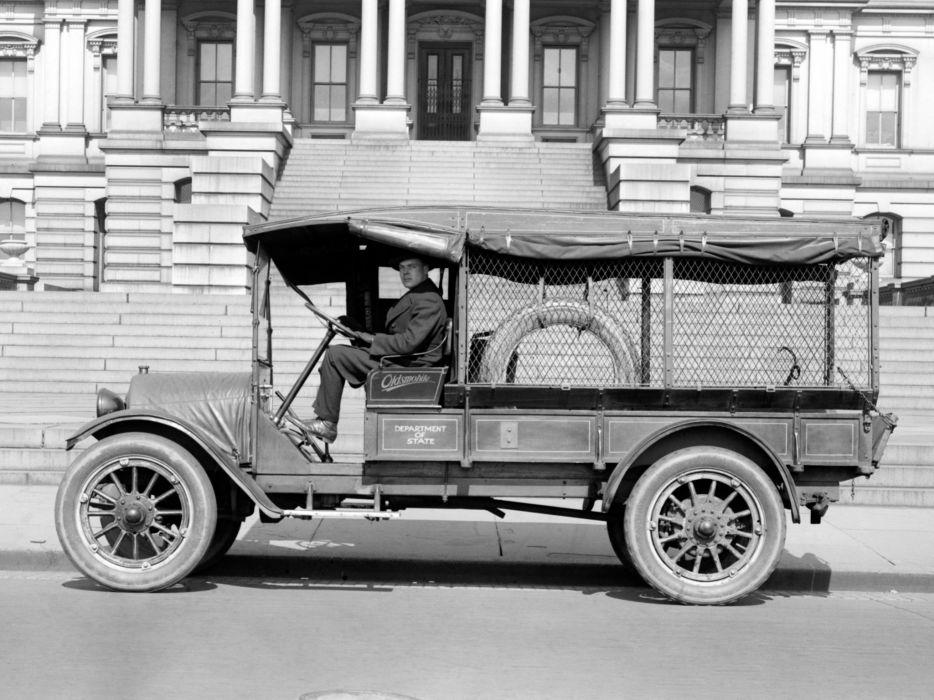 1919 Oldsmobile Model-T Economy Truck retro    g wallpaper