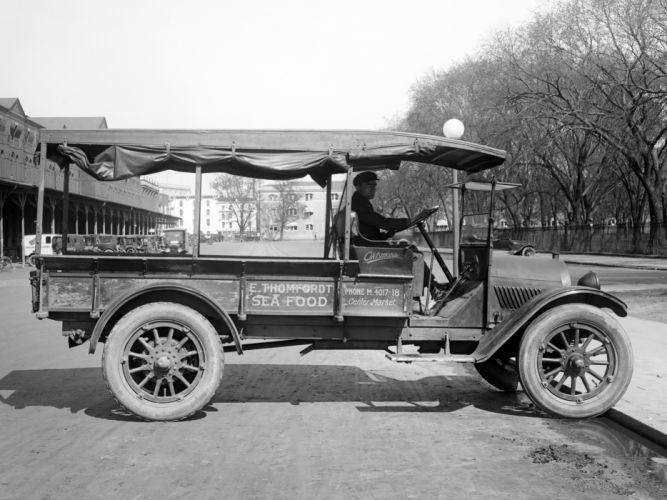 1919 Oldsmobile Model-T Economy Truck retro wallpaper