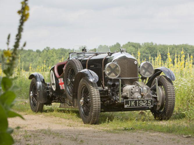1931 Bentley Supercharged Le Mans Blower By Vanden Plas
