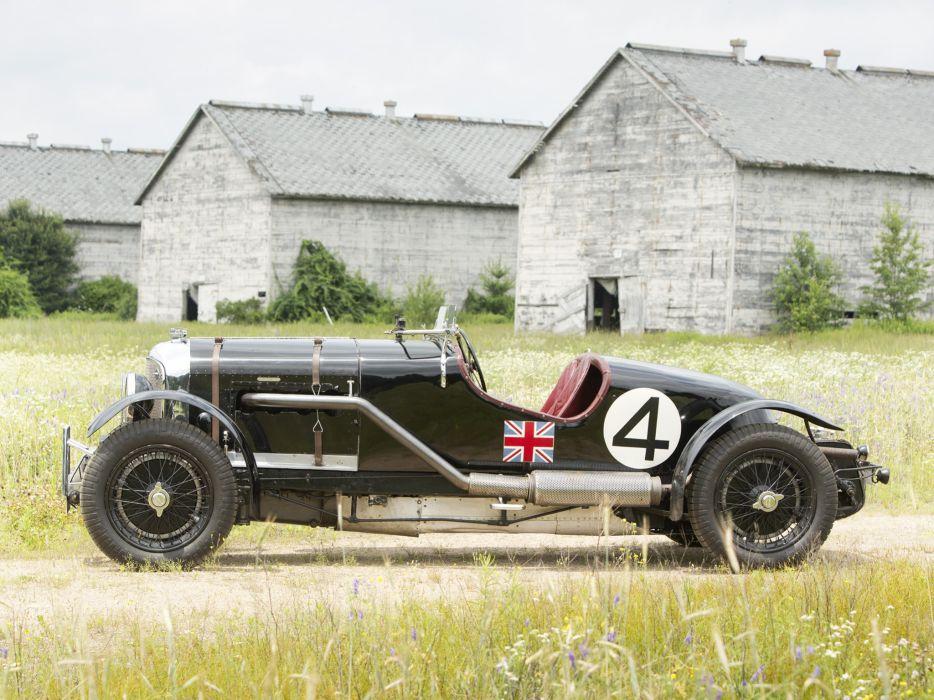 1931 Bentley Supercharged Le-Mans Blower by Vanden Plas retro race racing   j wallpaper