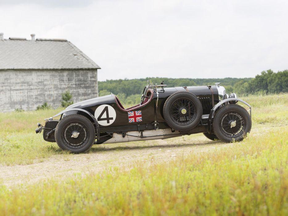1931 Bentley Supercharged Le-Mans Blower by Vanden Plas retro race racing h wallpaper