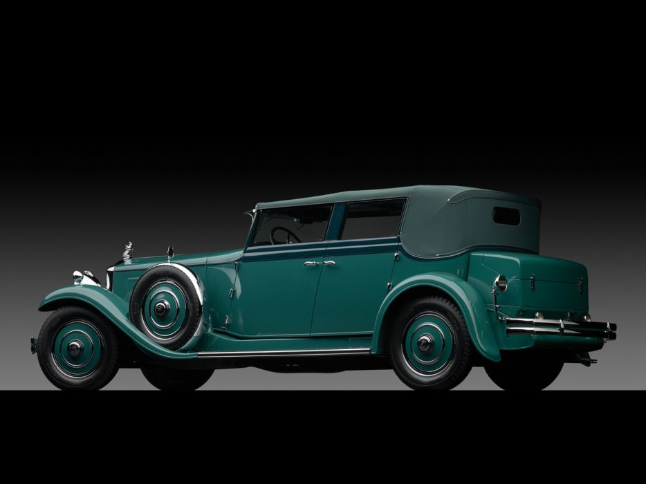 1931 Minerva 8AL Rollston Convertible Sedan retro luxury   f wallpaper
