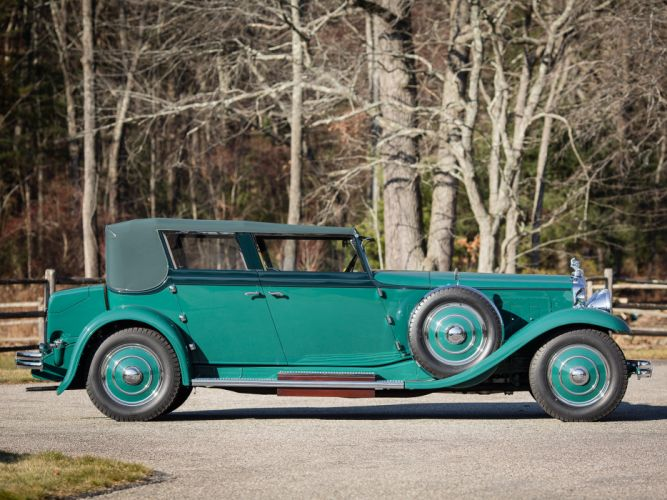1931 Minerva 8AL Rollston Convertible Sedan retro luxury g wallpaper