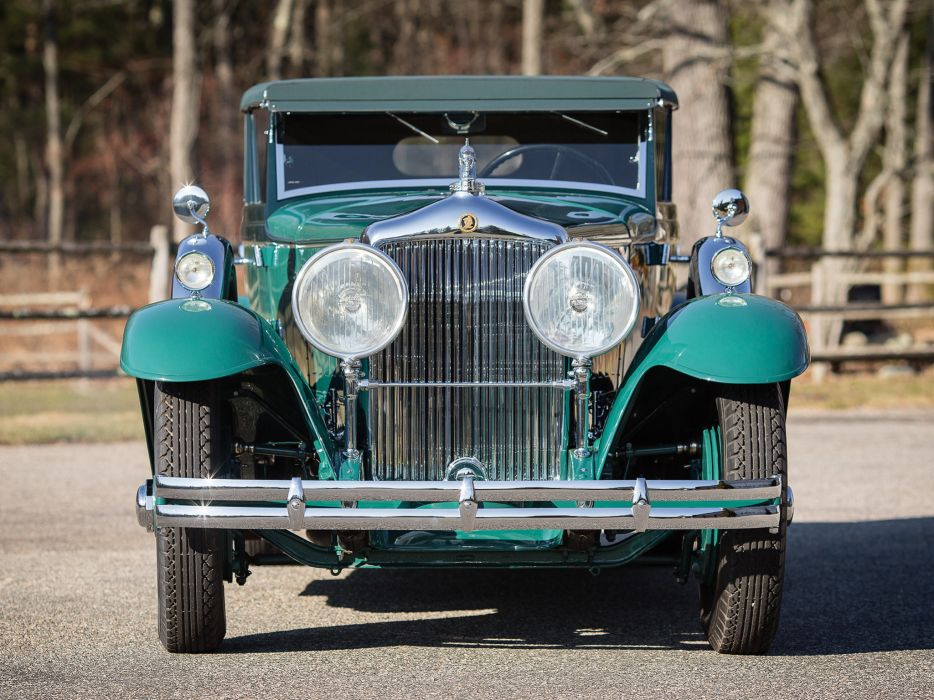 1931 Minerva 8AL Rollston Convertible Sedan retro luxury   g wallpaper