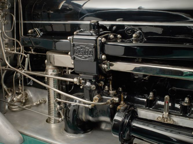 1931 Minerva 8AL Rollston Convertible Sedan retro luxury engine g wallpaper