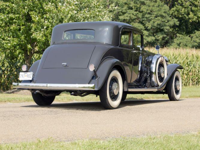 1932 Marmon Sixteen Victoria Coupe luxury retro hf wallpaper