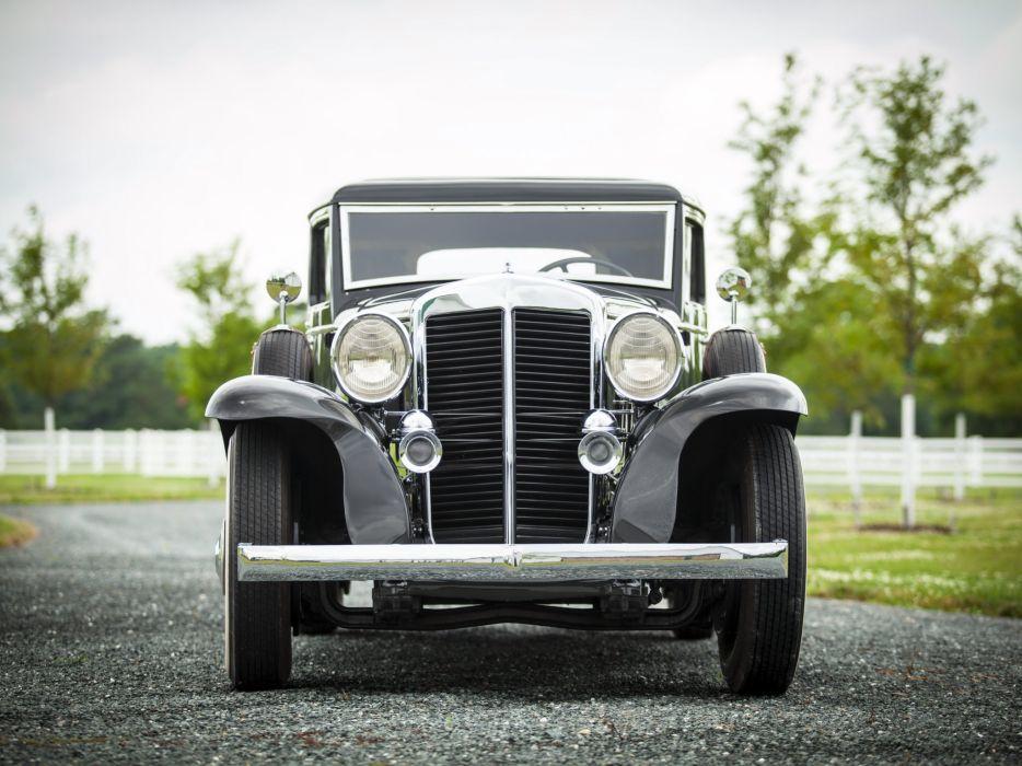 1932 Marmon Sixteen Victoria Coupe luxury retro wallpaper