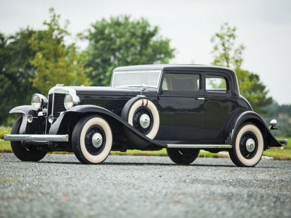 1932 Marmon Sixteen Victoria Coupe luxury retro  g wallpaper