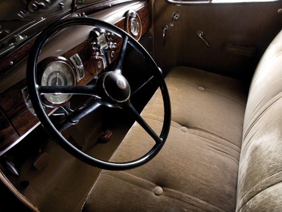 1936 Oldsmobile Six Touring Sedan retro interior      g wallpaper