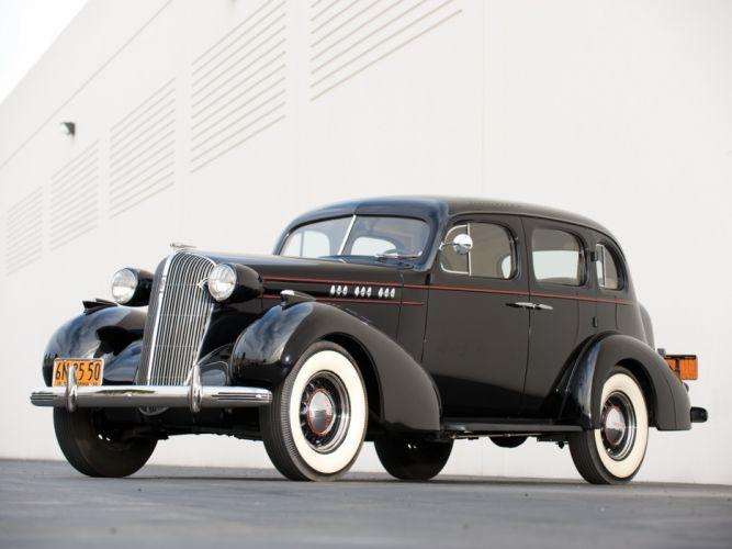 1936 Oldsmobile Six Touring Sedan retro wallpaper