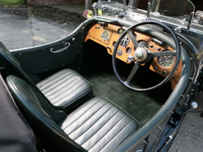 1937 Bentley Torpedo Roadster by Petersen Engineering retro supercar luxury interior g wallpaper