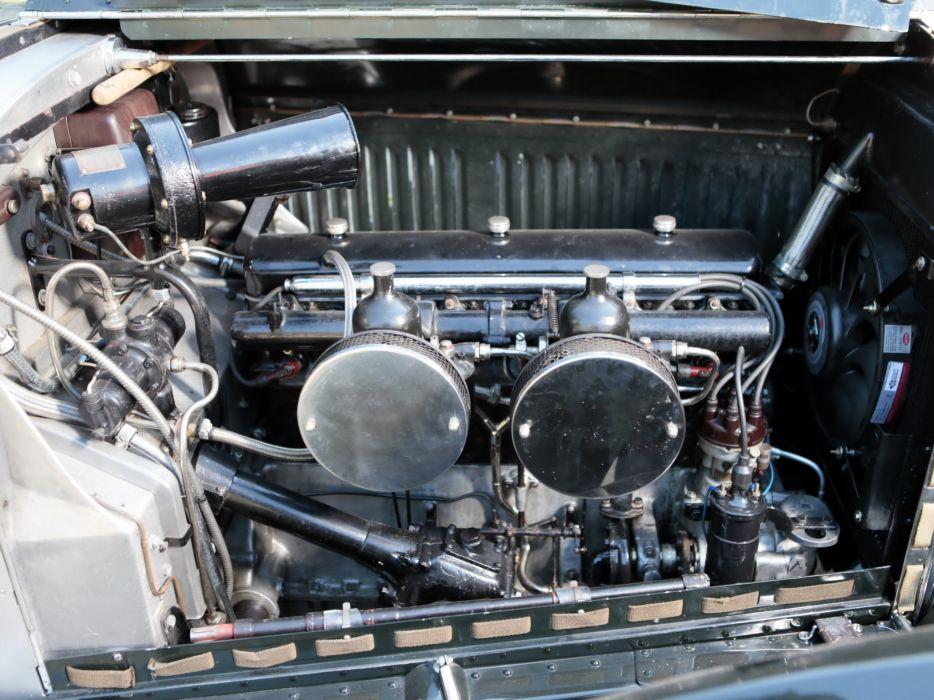 1937 Bentley Torpedo Roadster by Petersen Engineering retro supercar luxury engine y wallpaper